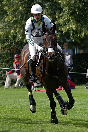 Australia at the 2012 Summer Olympics - Andrew Hoy, in his seventh Olympic Games, and Rutherglen competing in the cross-country discipline of the eventing.
