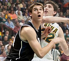 Andrew Smith - Siena vs. Butler - November 23, 2010-closup.jpg