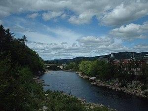 Edmund Muskie - Muskie grew up near the Androscoggin River in Rumford, Maine.