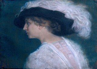 Portrait of Mrs. Stefka Georgieva Otmarova