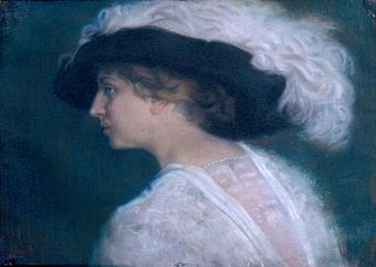 Aneta Hodina, Portrait of Mrs. Georgieva Stefanka.jpg