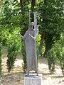 Angel Gabriel by Erwin Huber (2000) at Mariatrost Basilica, Graz Austria.JPG