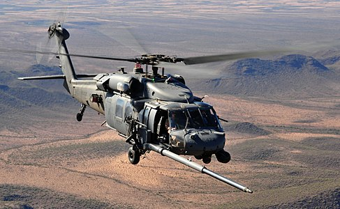 U.S. Air Force HH-60 Pave Hawk helicopter