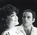 Angelique Rockas as Miriam with Nicolas D'Avirro as Mark in Tennessee Williams' In the Bar of a Tokyo Hotel.jpg