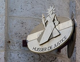 Image illustrative de l'article Huissier de justice