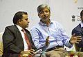 Anil Shrikrishna Manekar Talks with Ajoy Kumar Ray - Kolkata 2016-10-23 1355.JPG