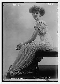 Anita de Braganza American socialite and heiress
