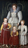 Anne, Lady Pope with her children by Marcus Gheeraerts the Younger.jpg