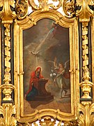 Gabriel tells Mary that she conceived Jesus