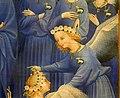 Anonimo inglese o francese, dittico wilton, 1395-99 ca. 06 madonna col bambino e 11 angeli 5.jpg