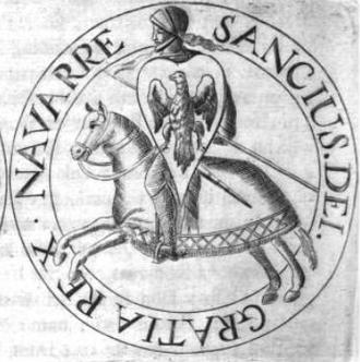 Sancho VII of Navarre - Sancho's seal