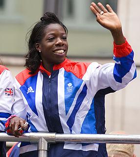 Anyika Onuora British sprinter