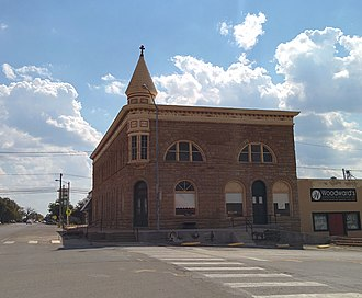 National Register of Historic Places listings in Caddo County, Oklahoma - Image: Apache State Bank