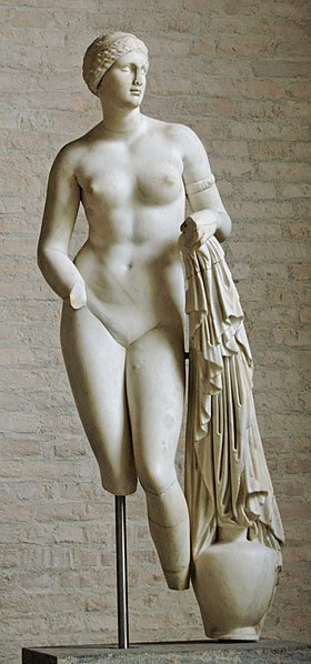"Braschi Venus"", from the Villa of the Quintilii (Glyptothek, Munich)."