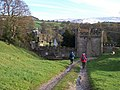 Approaching Bolton Hall, Bolton Abbey far left - geograph.org.uk - 437176.jpg