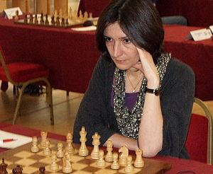 Ketevan Arakhamia-Grant - Arakhamia-Grant at the 2008 EU Championship