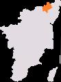 Arakkonam lok sabha constituency.png
