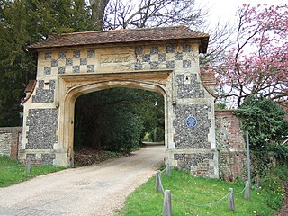 Westhumble Village in Surrey, England