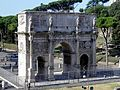 Arch of Constantine, North face, Rome (8130476116).jpg