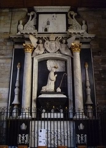 Archbishop Sharp Memorial, Holy Trinity Church, St. Andrews