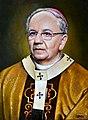 Arcybiskup Metropolita Lubelski Stanisław Budzik, Malował Zbigniew Kotyłło.jpg