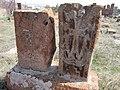 Arinj khachkar, old graveyard (283).jpg