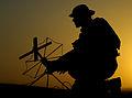 Army Signaller Operating Radio Equipment MOD 45154483.jpg