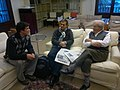 Arquitectos. Oriol Bohigas. MBM Arquitectes. Jorge Rocchi. Estéfano Rocchi. Duccio Rocchi. Barcelona. 2012-02-06.jpg