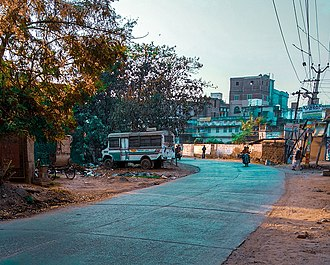 Arrah - Gandhinagar Road in Arrah