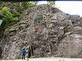 """Arrampicata sportiva presso la palestra di roccia """"Il Cinzanino"""" - falesia di Maccagno (Lago Maggiore - Varese) - 2017-04-30.jpg"""