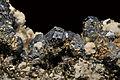 Arsénopyrite, pyrite, calcite et quartz (Mexique) 1.JPG