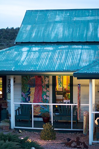 Payson, Arizona - Down the Street Art Gallery on Main Street in Payson