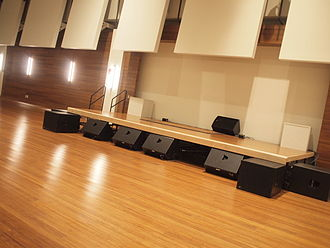 Artisphere - A stage inside the ballroom of the Artisphere