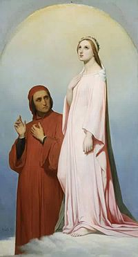 Ary Scheffer - Dante and Beatrice (1851, Boston museum).jpg