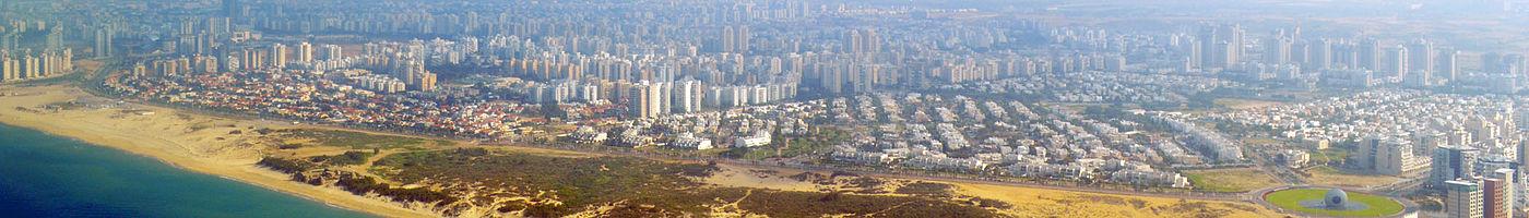 דרום העיר אשדוד, במבט מן הים
