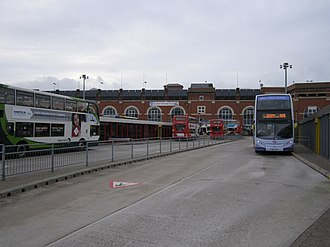 Ashton-under-Lyne bus station - Ashton-Under-Lyne bus station