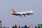 Asiana Airlines, OZ114, Boeing 767-38E, HL7248, Arrived from Seoul, Kansai Airport (17188002435).jpg