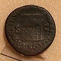 Asse di bronzo di nerone, zecca di lugdunum, 65 dc ca, con tempio di giano.jpg