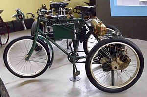 Ateliers de Construction Mecanique l'Aster - Aster motorised tricycle 1899