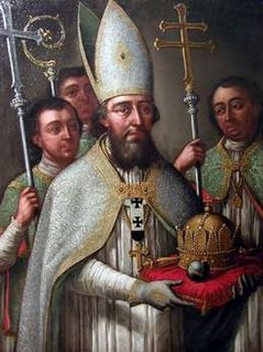 Astrik Roman Catholic archbishop and saint