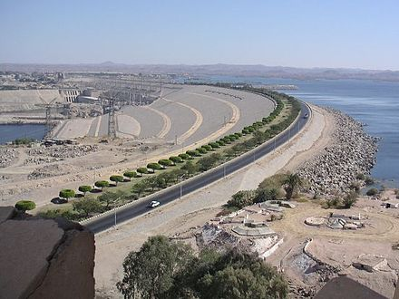 January 15: Aswan Dam opens in Egypt. AswanHighDam Egypt.jpg