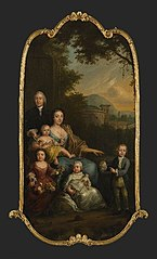 Portret van de familie Hoffmann