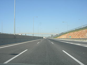 Motorway 6 (Greece) - Westbound to Elefsina