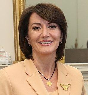 Atifete Jahjaga politician from Kosovo