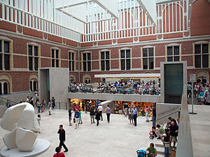 Rijksmuseum - The atrium after the renovation in 2013