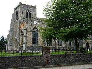 Attleborough - Attleborough parish church