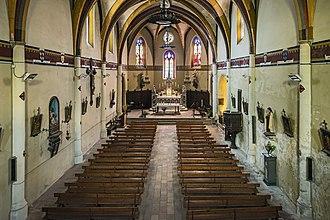 Aucamville, Tarn-et-Garonne - Image: Aucamville (Tarn et Garonne) Eglise Interieur