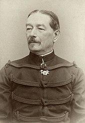 ElGeneral Auguste Mercier, Ministro de Guerra en 1894.
