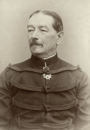 Auguste Mercier - General Auguste Mercier when Minister for War in 1894