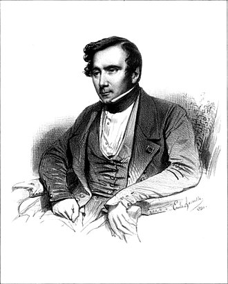 Augustin Thierry - Drawing of Augustin Thierry, 1840